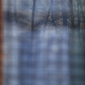 Blurred view through a window - WIF001691
