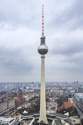 Germany, Berlin, television tower at Alexanderplatz - VTF000407