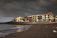 Spain, Canary Islands, La Gomera, Valle Gran Rey, black beach Playa de La Calera and La Playa - PCF000145