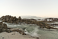 South Africa, Cape Town, sunrise at Bloubergstrand - CLPF000071