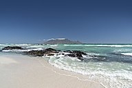 South Africa, Cape Town, Bloubergstrand - CLPF000073