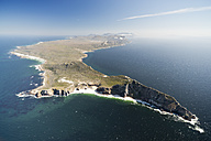South Africa, Cape Peninsula, aerial view of Cape of Good Hope - CLPF000078