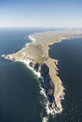 South Africa, Cape Peninsula, aerial view of Cape of Good Hope - CLPF000079