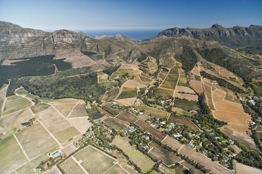 South Africa, Cape Town, aerial view of Tokai Forest - CLPF000081