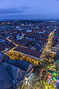 Germany, Lower Saxony, Goslar, Christmas market in the evening - PVCF000409