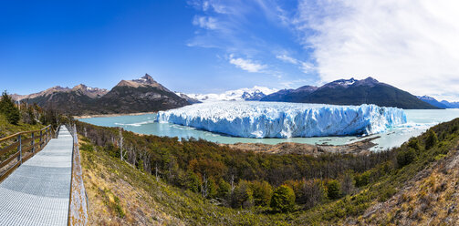 Argentina, Patagonia, Perito Moreno Glacier and Argentino Lake at Los Glaciares National Park - STSF000765