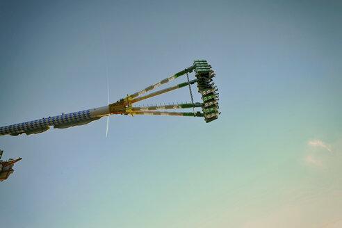 Germany, Colgone, Flying high on a fun fair - ON000823