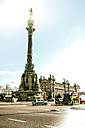 Spain, Barcelona, view to Columbus Monument - GDF000709