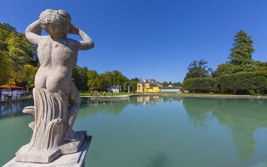 Austria, Salzburg State, Salzburg, Castle Hellbrunn, palace garden - AM003974