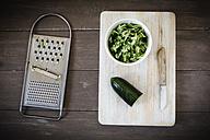 Grated cucumber - EVGF001622
