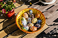 Easter eggs with Japanese paper - MFF001577