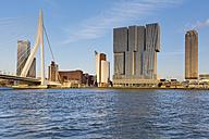 Netherlands, Rotterdam, view to skyline - MSF004536