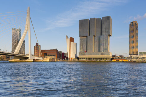 Netherlands, Rotterdam, view to skyline - MSF004536
