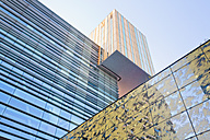 Netherlands, Rotterdam, view to InHolland University - MSF004549