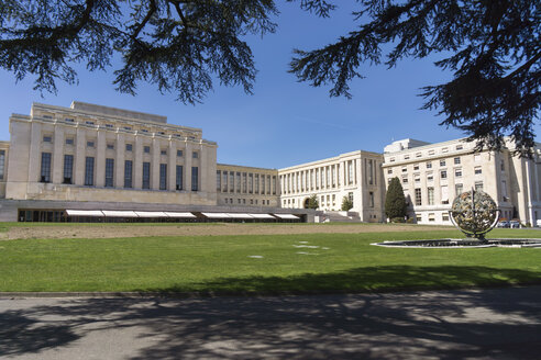 Switzerland, Geneva, Palace of Nations - WE000334