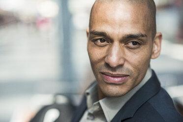 Portrait of confident businessman - UUF004067