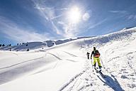 Germany, Bavaria, Bolsterlang, ski tour - EGB000030