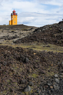 Iceland, Grindavik, view to light house - KEBF000182