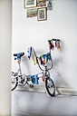Bicycle used as clotheshorse - RIBF000057