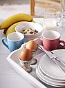 Laid breakfast table - KSWF001460