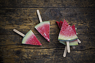 Five watermelon popsicles - LVF003351
