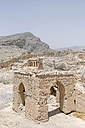 Oman, Tanuf, destroyed loam house settlement - HLF000882