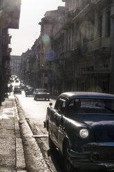 Cuba, Havana, vintage cars - FB000384
