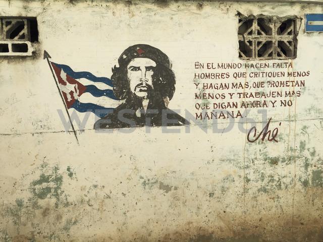 Che Painting, Santa Clara, Cuba - FB000391