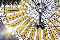 Germany, Berlin, Potsdamer Platz, Sony Center, roof construction - EGB000094