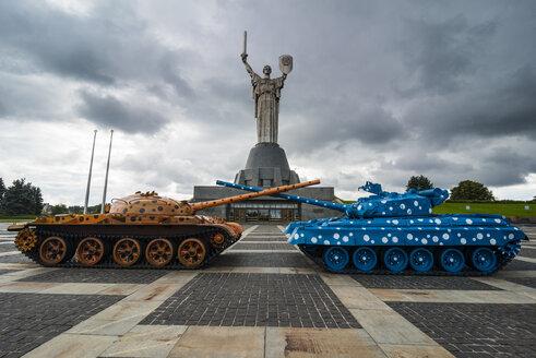 Ukraine, Kiev, Rodina-Mat statue and the Museum of The History of Ukraine in World War II - RUN000102
