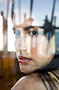 Young woman in cabin on a sailing ship - TOYF000914