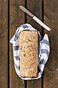 Home-baked spelt wheat bread - EVGF001803