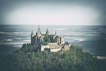 Germany, Zollernalbkreis, view to Hohenzollern Castle - ELF001502