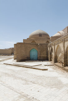Iran, Isfahan, view to back side of Shah Mosque - FLF001137