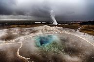Iceland, geyser - SMAF000336