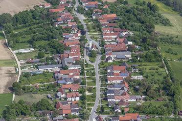 Germany, Bavaria, aerial view of Baiershofen - KLEF000013