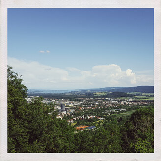 Germany, Singen, View over city from Hohentwiel - ELF001524