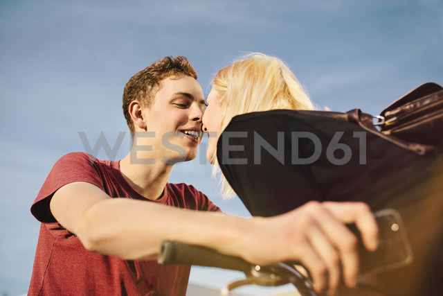Young couple about to kiss - GCF000091