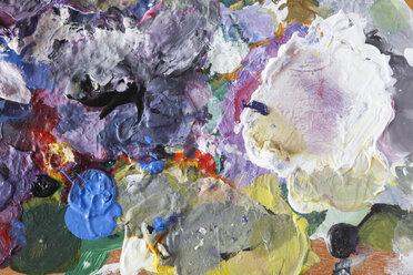 Used artist's palette - JTF000671