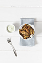 Parmesan herbs potato wedges  with avodado dip - EVGF001769