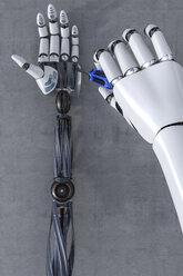 3D Rendering, Robot hand reparing robot hand - AHUF000010