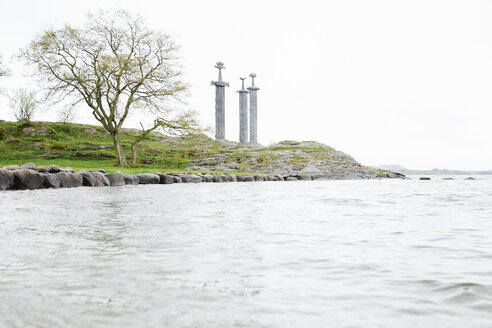 Norway, Stavanger, Swords in the rock monument, Sverd i fjell - STD000185