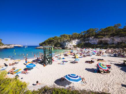 Spain, Majorca, beach of Cala Llombarts - AM004077
