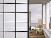 Cardboard boxes in office, 3d rendering - UWF000533