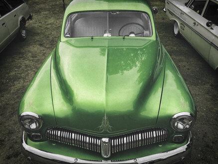 Germany,Hamburg,US American vintage car - RJ000460