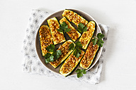 Gratinated sliced courgettes with Chermoula - EVGF001830