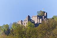 Germany, Baden-Wuerttemberg, Baden-Baden, Hohenbaden Castle - WDF003157