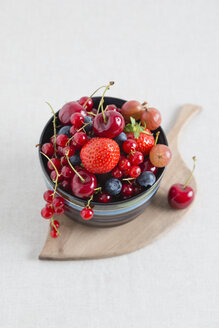 Bowl of different fruits - MYF001056