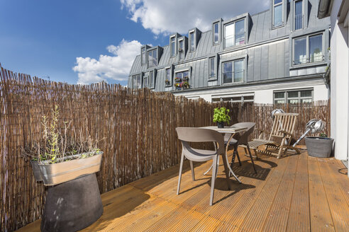 Germany, Berlin, Vacation home with rooftop terrace - TAMF000247