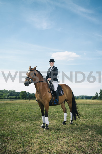 Rider on a horse - TAM000239